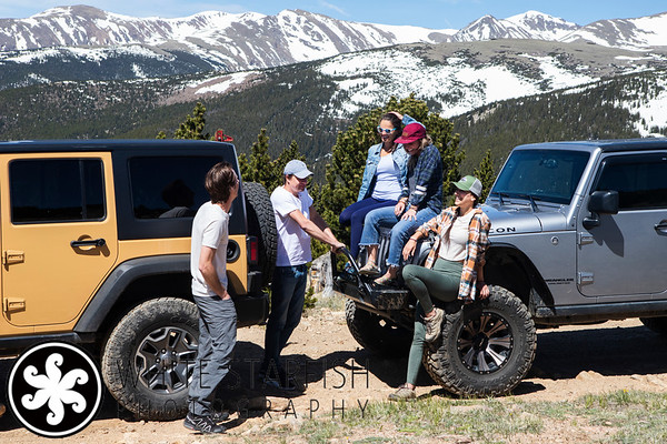 Vail Commercial Photographer - Native Jeeps - St Mary's Glacier
