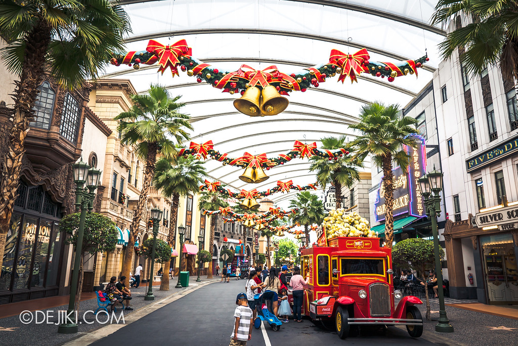 Universal Studios Singapore Park Update November 2017 - Hollywood overview