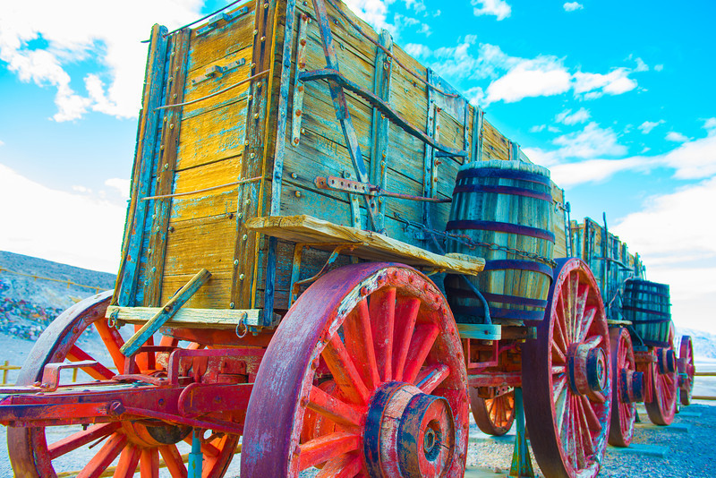 Borax Wagon Train 1