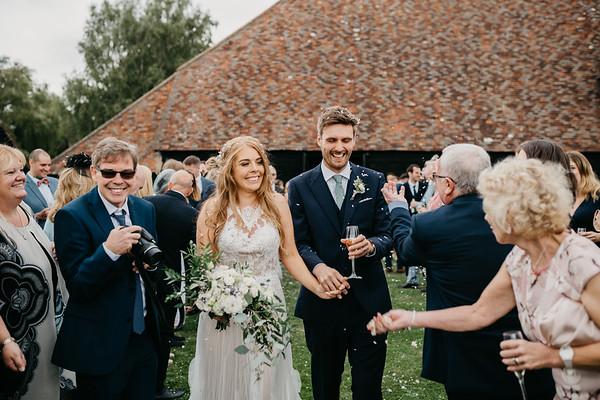 Tiff and Kris - wedding
