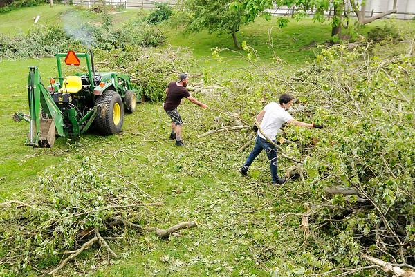 Pendleton tornado cleanup