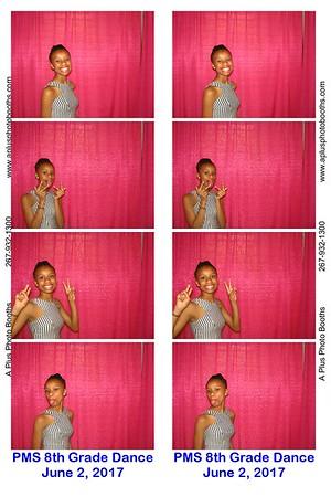 Pottstown Middle School 8th Grade Dance 6-2-17