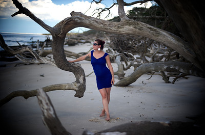 Danielle at Big Talbot Island