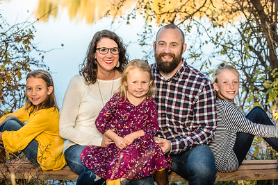 Amy Peterson family 2018