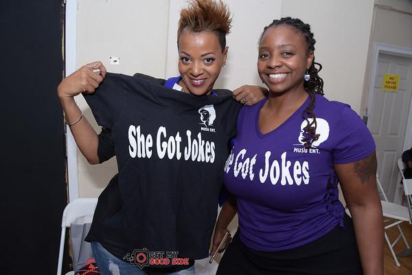 She Got Jokes Too
