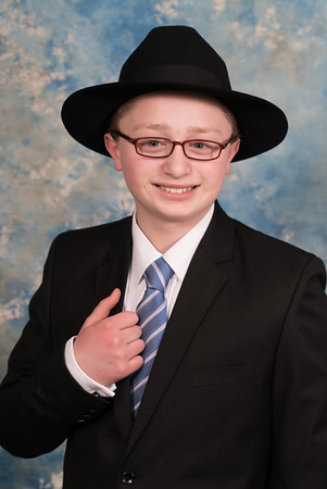 Ruvie Lipnick Bar Mitzvah Portraits-April 13, 2018