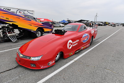 Top Alcohol Funny Car Staging Lanes