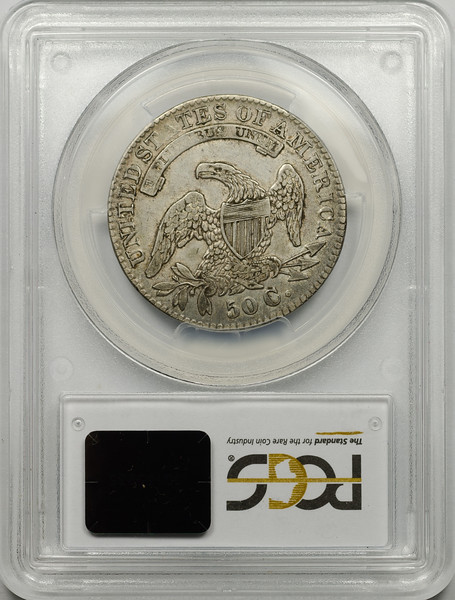 1832 HALF DOLLAR - CAPPED BUST, LETTERED EDGE SMALL LETTERS O-110 PCGS XF45 CAC Reverse