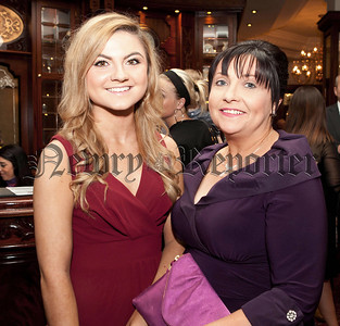 Sorcha Hill and Fiona McAlinden representing Our Lady's Grammar School. R1427122