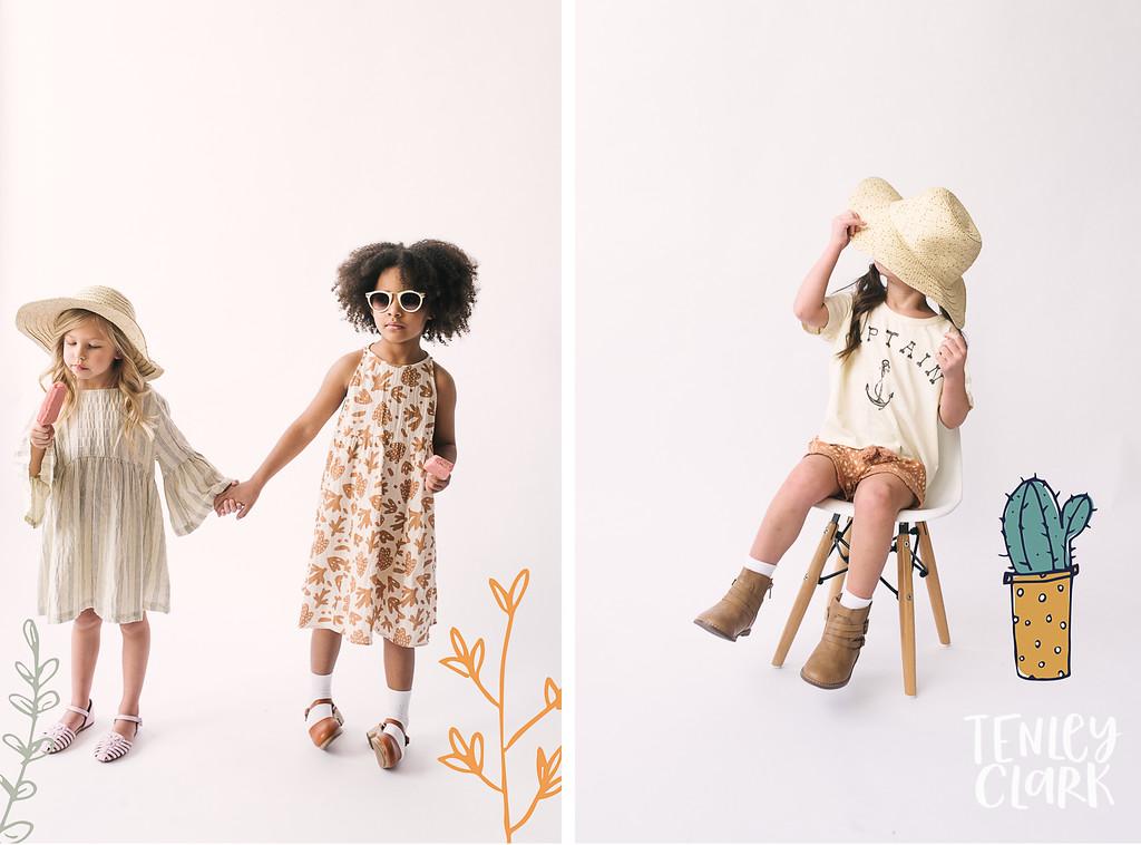 Rylee & Cru SS18 Sneak Peek shoot at PhotoNative class with Becky Kimball. Image by Tenley Clark.