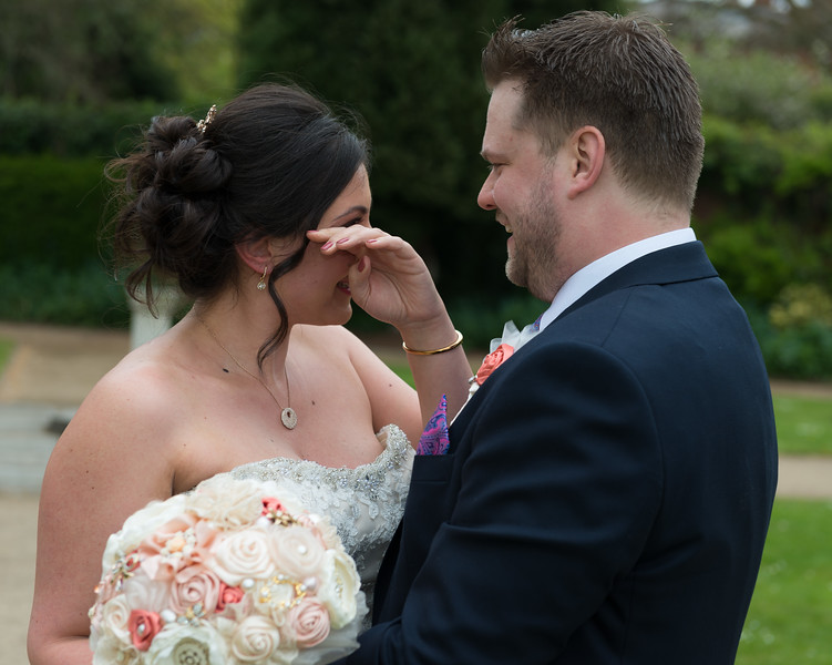 The First Look.- Lichfield Wedding Photographer - Neil Currie Photography - Wedding Photography Staffordshire
