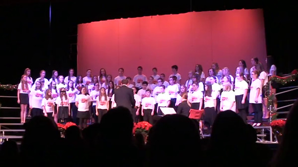 CMS Choir concert Dec 2014