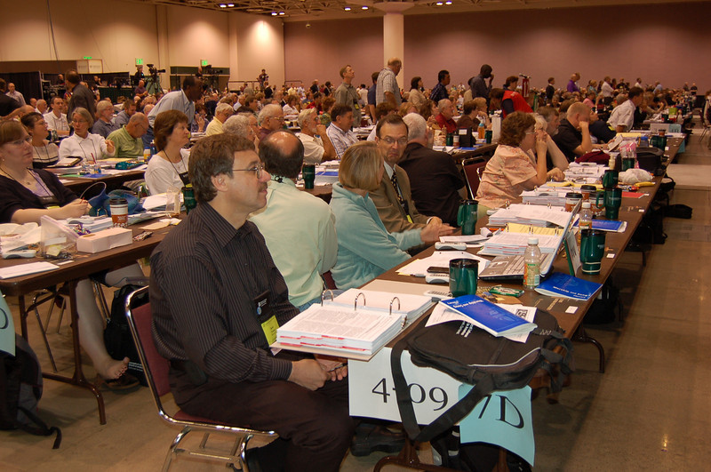 Delegates from Upstate New York Synod.