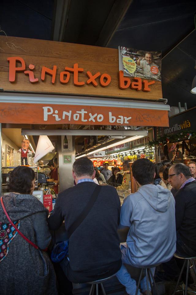 La Boqueria Market  pinotxo bar