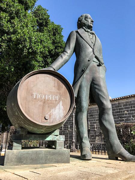 Manual Maria Gonzalez - Tio Pepe Winery