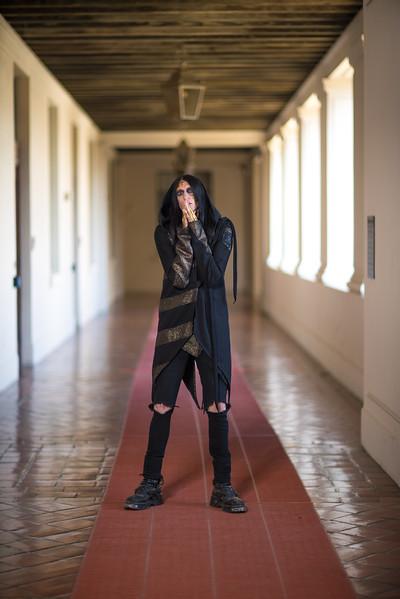 Pasadena City Hall Photo shoot with Fiola the fashion designer,Models: Mia Caporale, Sha, Erin