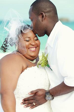 Garvin & Kamesha | Bahamas Wedding | Three Sisters Hotel | Exuma, Bahamas