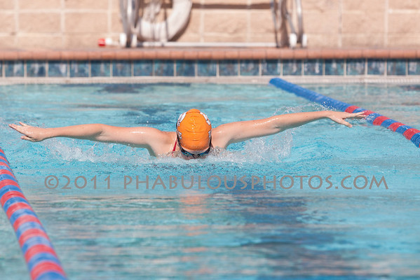 Colonial @ Boone Braves Swimming - 2011