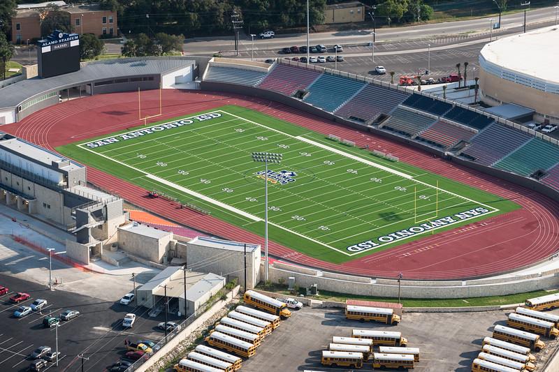 09/23/2014 092604 -- San Antonio, TX -- © Copyright 2014 Mark C. Greenberg  Alamo Stadium