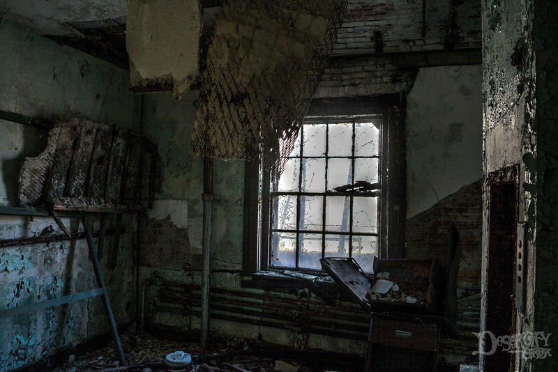 Ruined Room at the Asylum