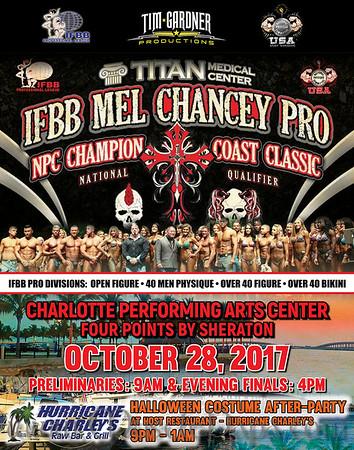 IFBB Mel Chancey Pro Check-Ins