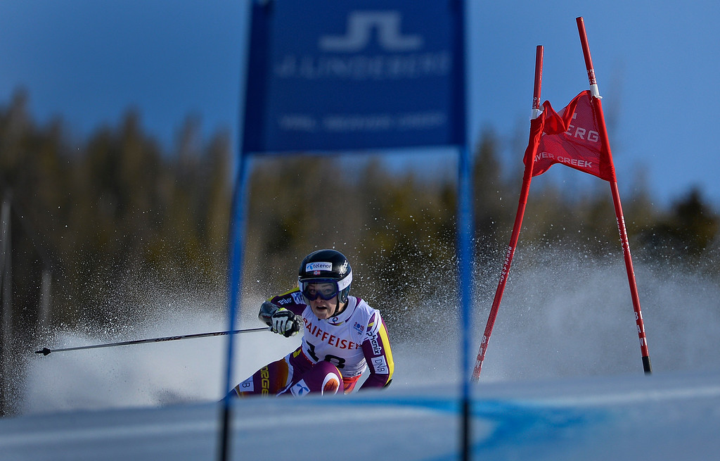 . BEAVER CREEK, CO - FEBRUARY 12: Nina Loeseth of Norway competes in the second run of the Ladies Giant Slalom event at the FIS Alpine World Ski Championships in Beaver Creek, CO. February 12, 2015. (Photo By Helen H. Richardson/The Denver Post)