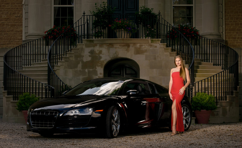 Abby and the R8