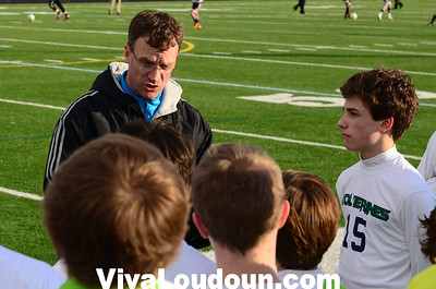 Boys JV: Broad Run at Woodgrove Soccer (3-13-2013 by Jeff Vennitti)