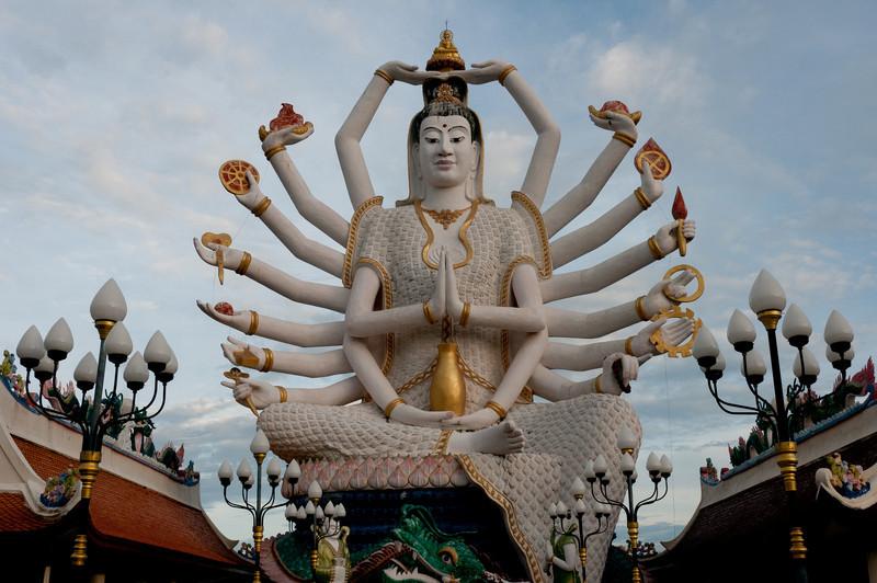 Hindu statue at Ko Samui, Thailand
