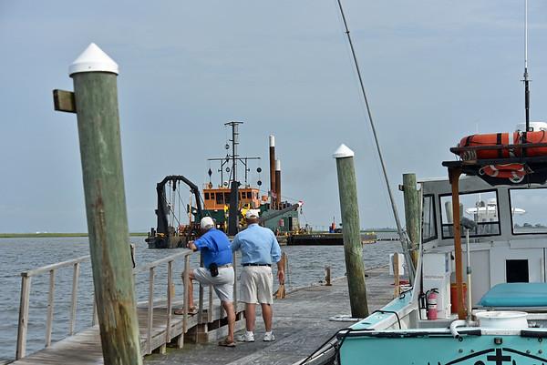 Jekyll Wharf Dredging 06-06-19