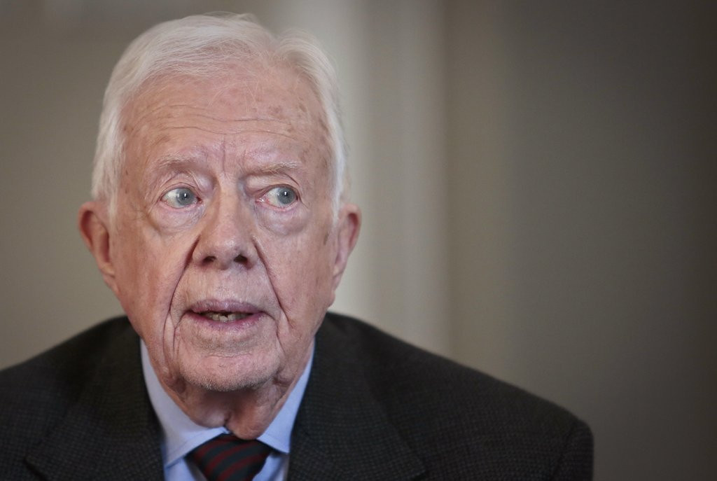 """. <p>6. JIMMY CARTER <p>Failed presidency not looking so bad after some 21st century abominations we can think of. (7) <p><b><a href=\'http://politicalticker.blogs.cnn.com/2014/03/23/jimmy-carter-believes-the-nsa-monitors-his-e-mails/\' target=\""""_blank\""""> HUH?</a></b> <p>    (AP Photo/Bebeto Matthews)"""