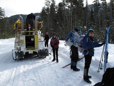 Spring Creek Ski 12Jan09