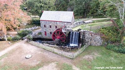 Grist Mill, Grist Mill Pond and Martha Mary Chapel, Sudbury, MA