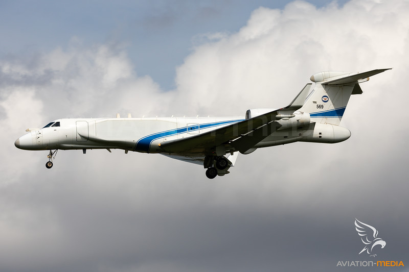 Israel - Air Force | Gulfstream G550 Nachshon | 569