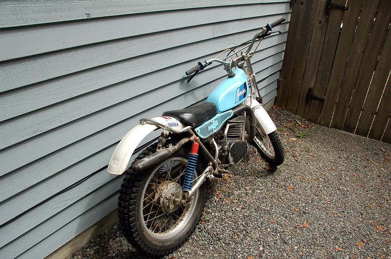 And another trials bike.