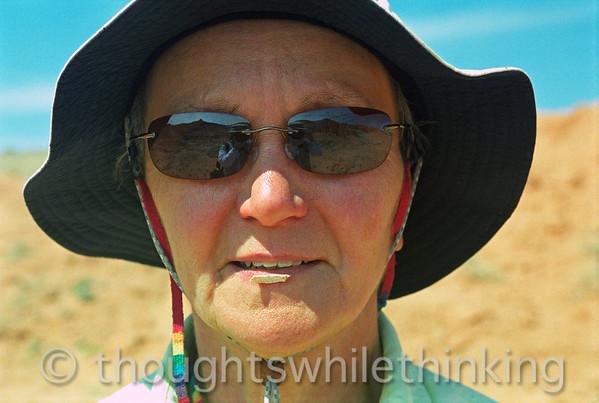 Mongolia 2008 - Gobi, Flaming Cliffs, Ongiyn Hiid