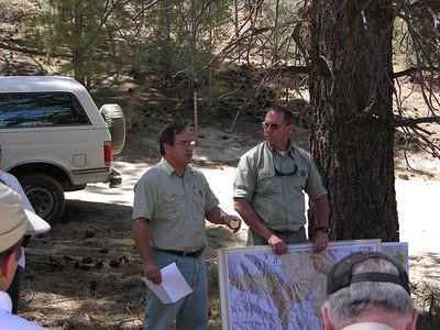 Piute Fire Restoration Tour
