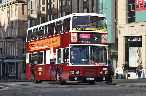 5th October 2004: Edinburgh Buses