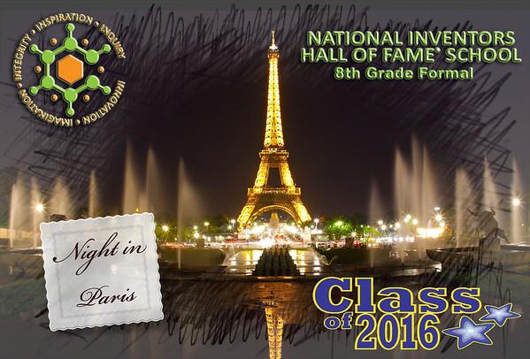 NIHF Stem Akron Class of 2016 Formal Night in Paris