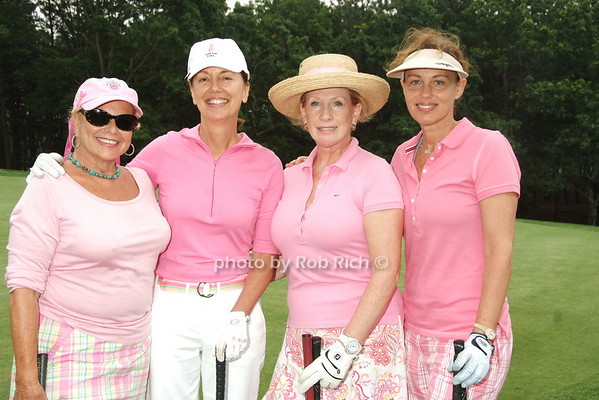 The 9th Annual Play For Pink Golf Tournament benefiting The Breast Cancer Research Foundation, founded by Evelyn Lauder in 1993, was held at the Hampton Hills Golf & Country Club, on June 26, 2008