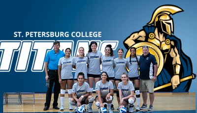 St Pete College Volleyball