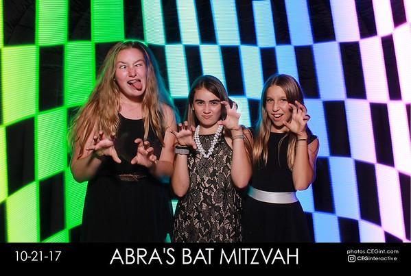 2017-10-21 Abra's Bat Mitzvah