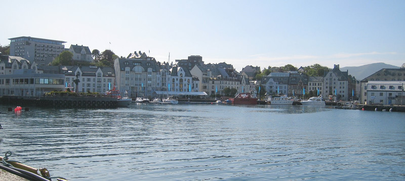 Alesund - a lovely town