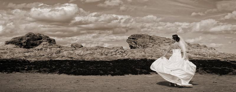 Wedding St Andrews Beach