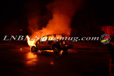 Wantagh F.D. Car Fire 3779 Hunt  Road 11-30-13