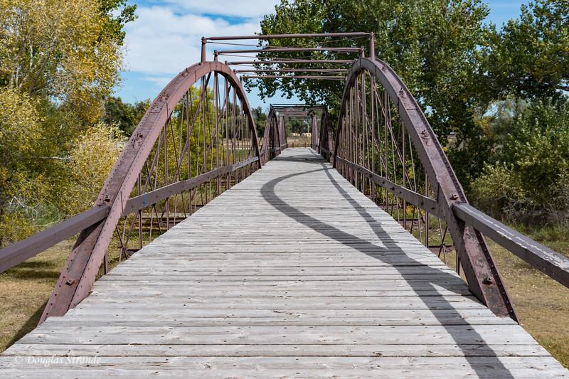 1876 Bridge over North Platte River