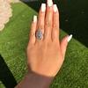 1.75ctw Edwardian Toi et Moi Old European Cut Diamond Ring  48