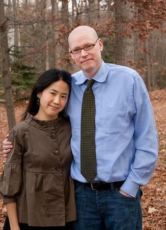 Michael Elisa Summers family November 23, 2012