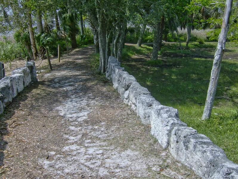 Interpretive trail at San Marcos de Apalache