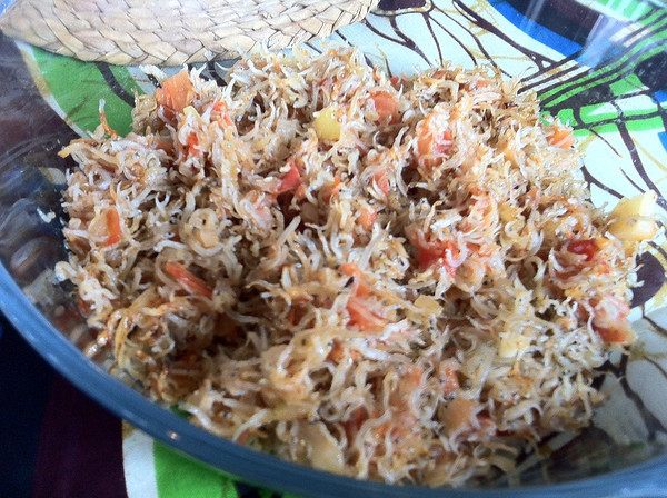Zambian Cooking Class March 8, 2012: Fish